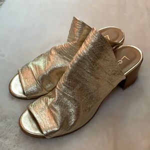 Lemare' Metallic Sandals